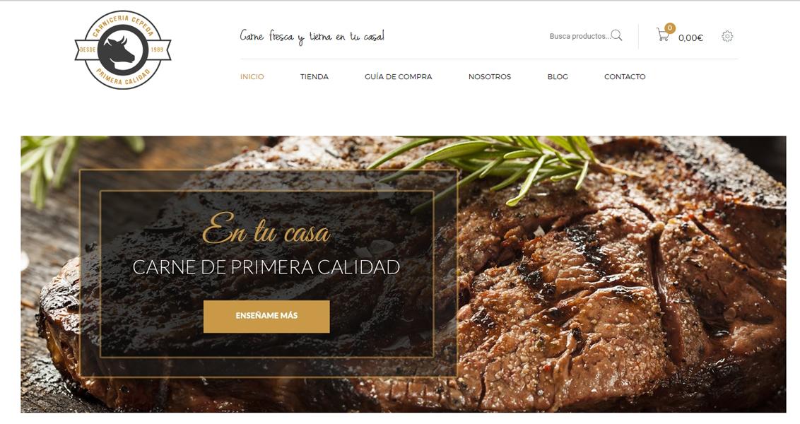 Tienda Online Julio Cepeda