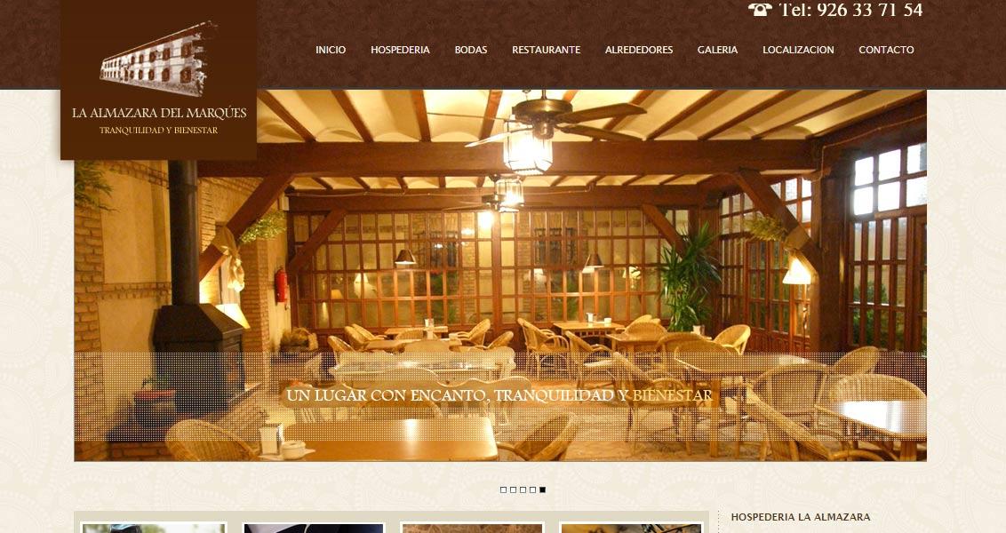 Diseño web Almazara del Marqués