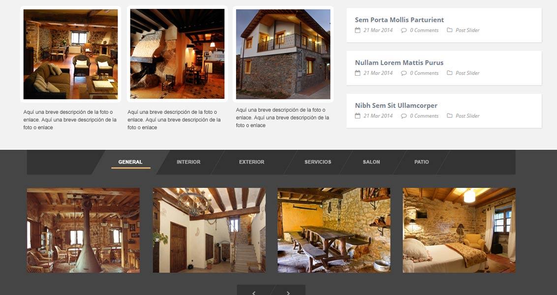 Diseño web Alojamiento rural