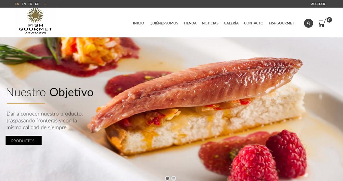 Tienda online Fish Gourmet