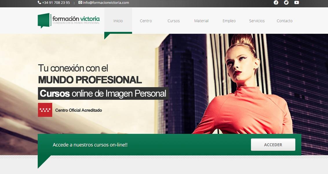 Diseño web Formación Victoria