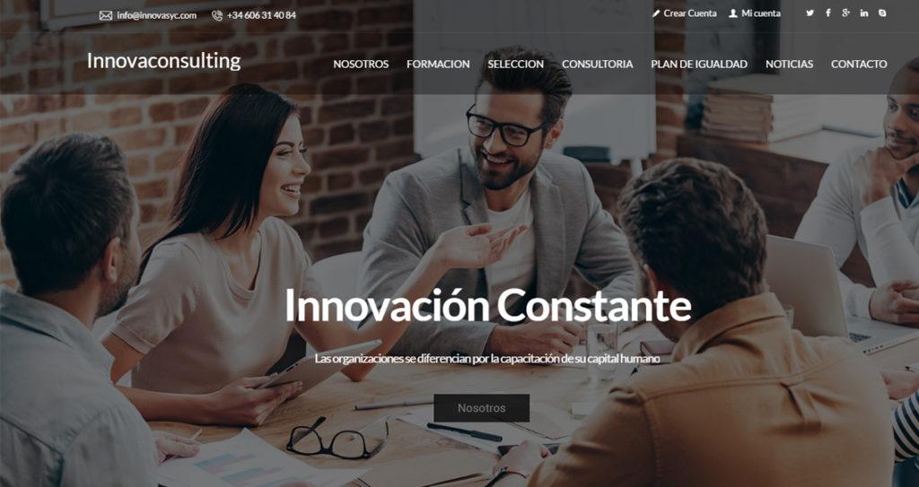 Diseño web innovasyc