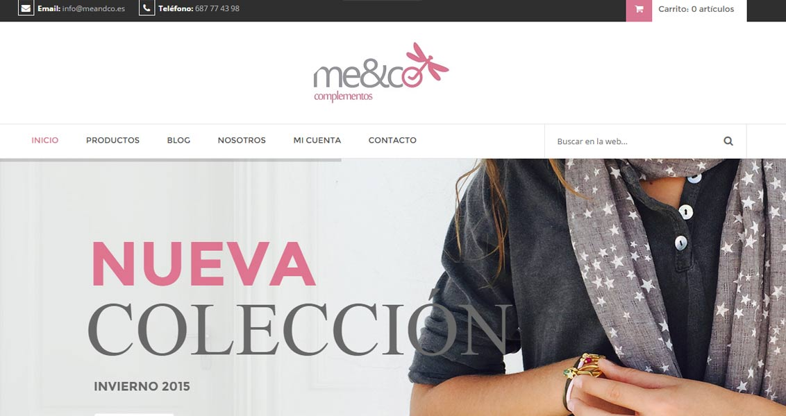 Tienda online MeandCo