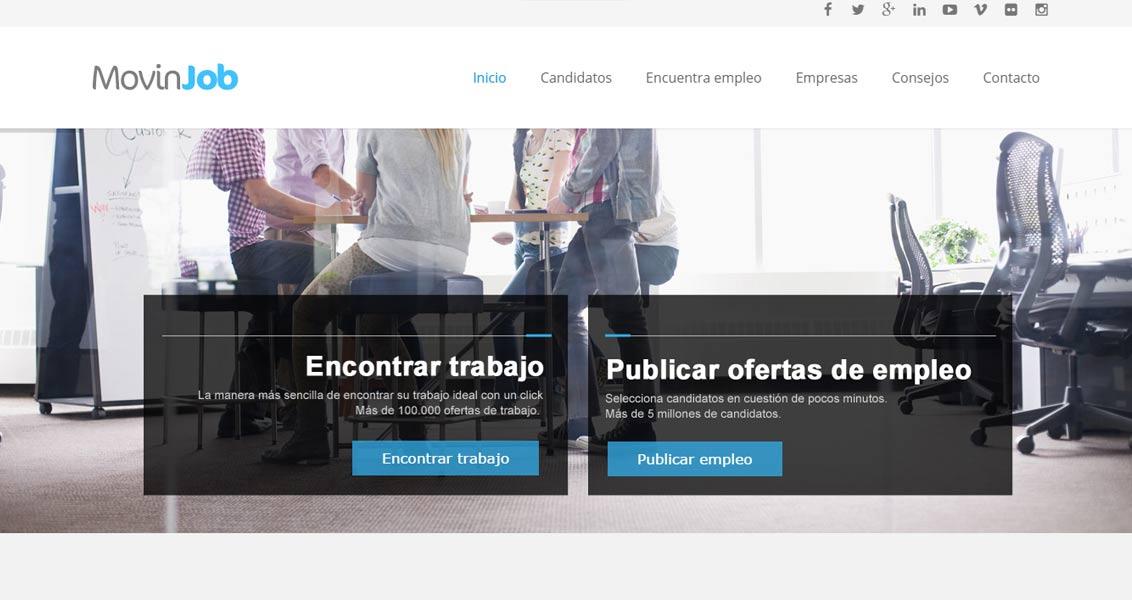 Diseño web movinjob