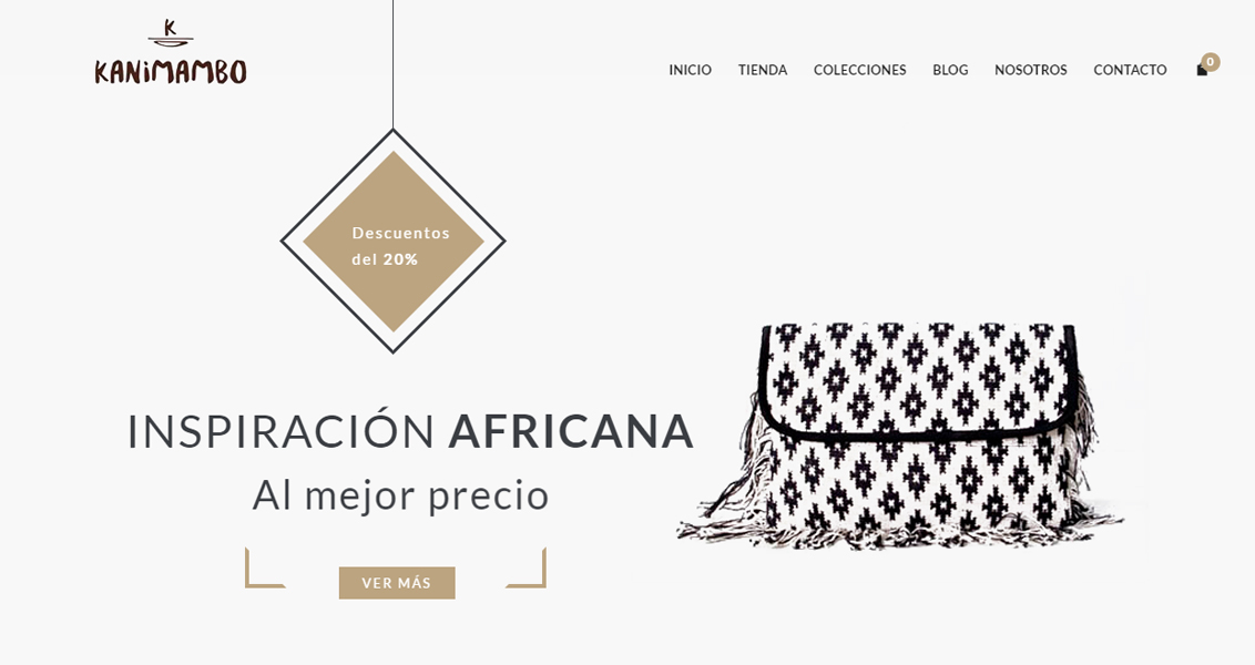 Tienda online Kanimambo