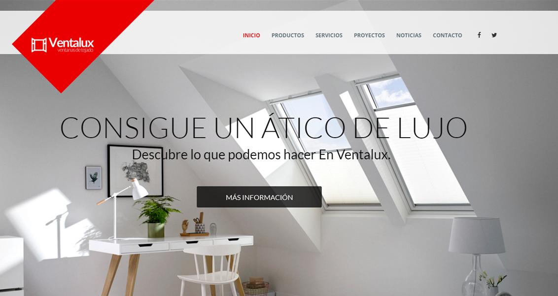 Diseño web ventalux