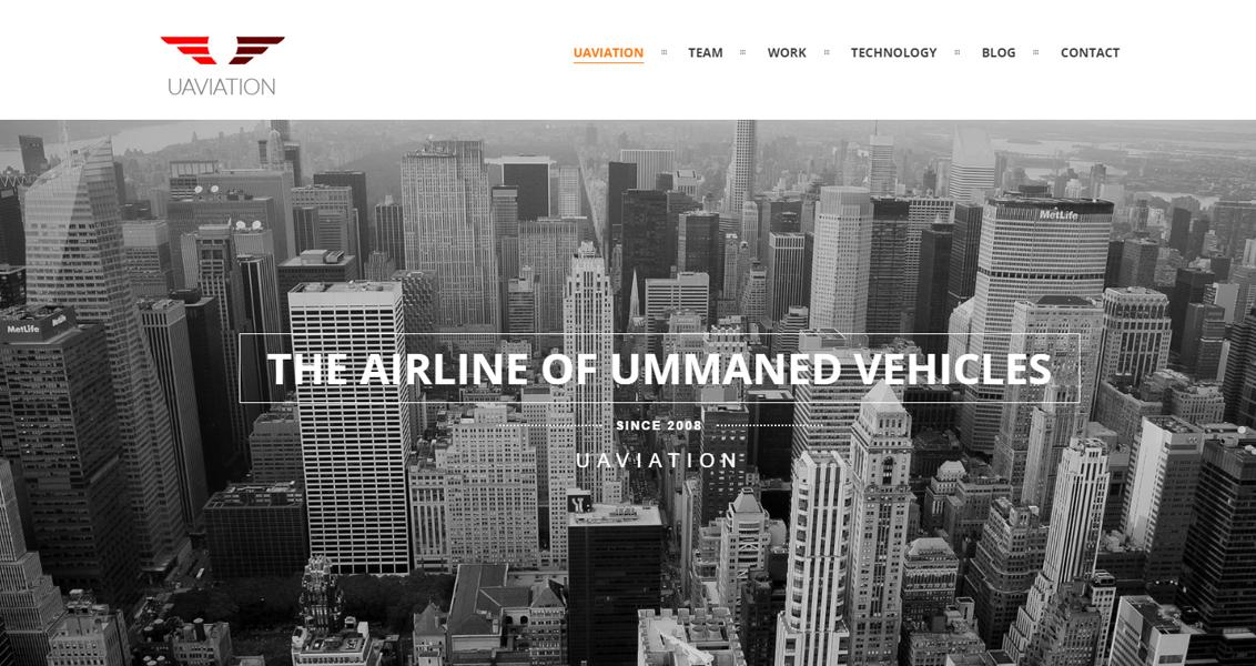 Diseño web Uaviation