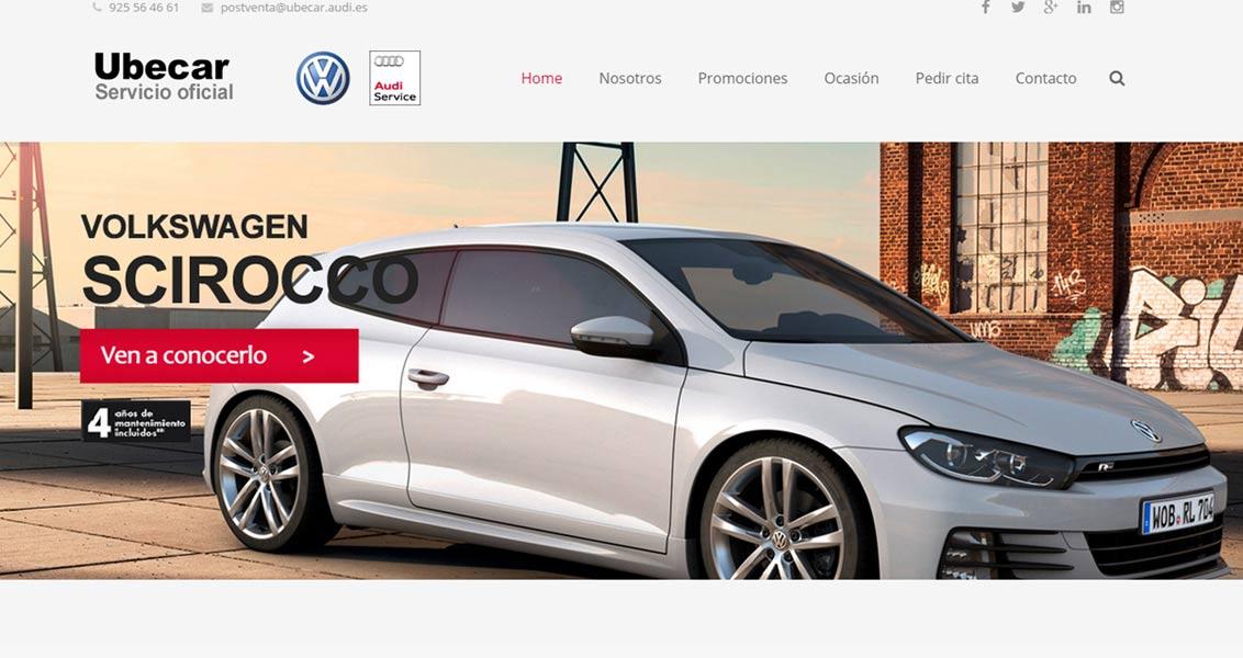 Diseño web Ubecar