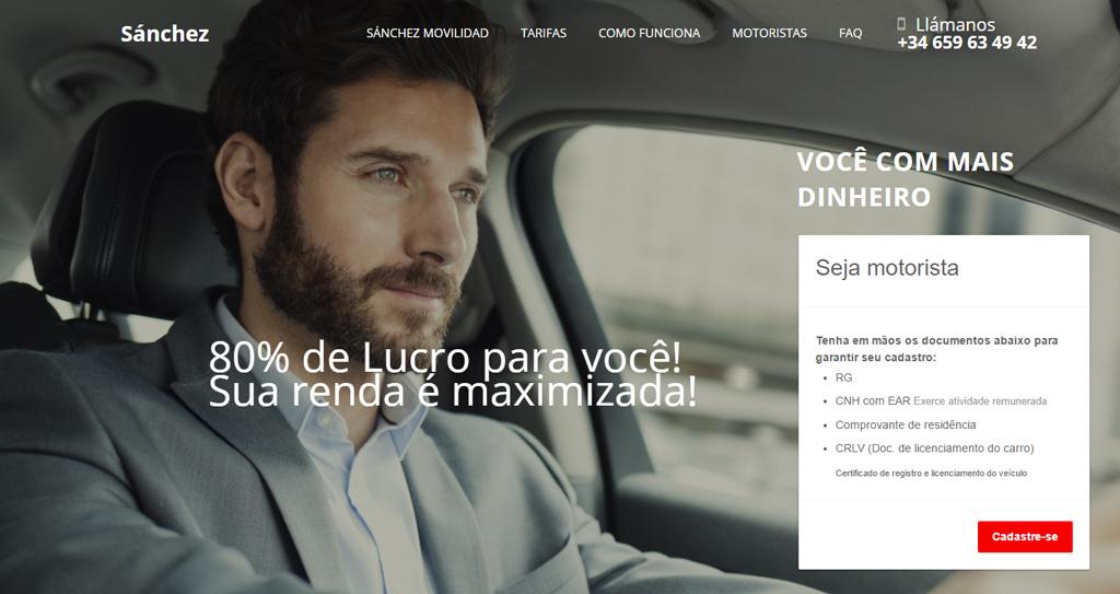 diseno web empresa de transportes