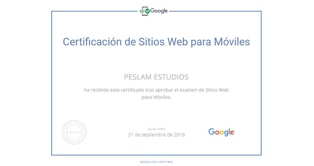 Certificación de sitios web