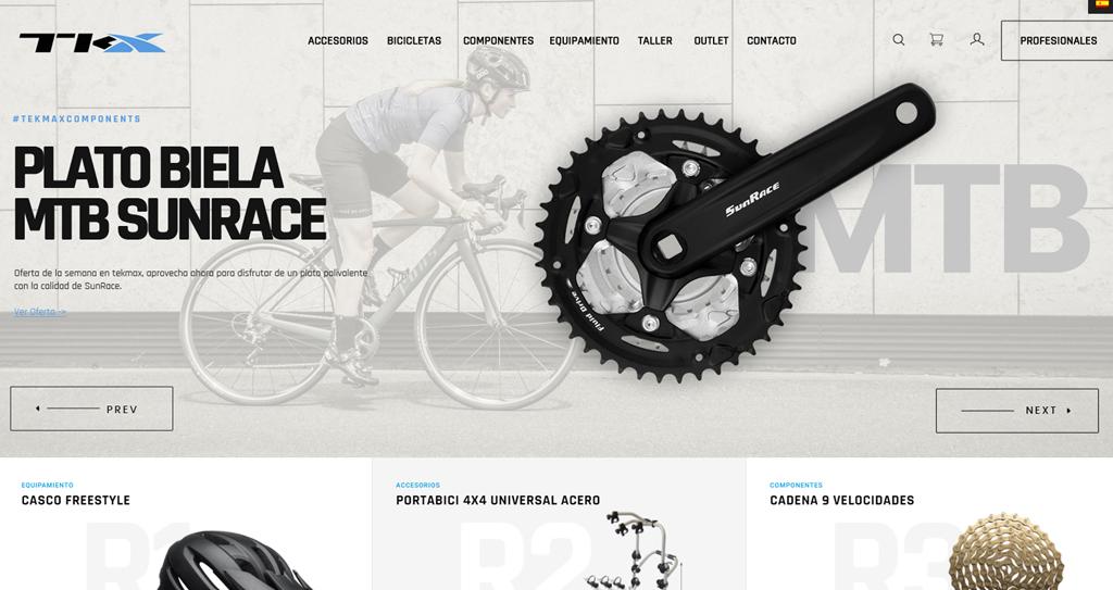 Diseño Tienda online Bicicletas
