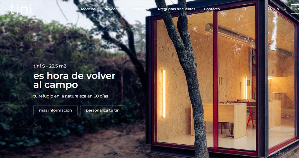 Diseño web de casas personalizada