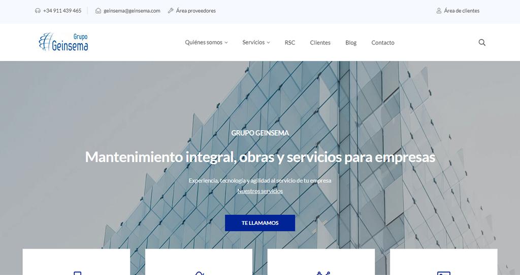 Diseño web Servicios