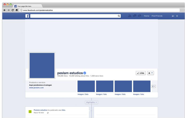 Te aconsejamos en redes sociales como Facebook.