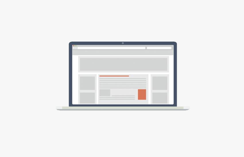 Presentación de una página web